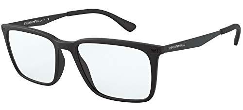 Gafas de Vista Emporio Armani EA 3169 MATTE BLACK 55/17/150 hombre