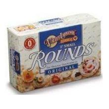 Valley Lahvosh Round Animer and price Reservation revision Original Crackerbread 2 inch 6 per -- case
