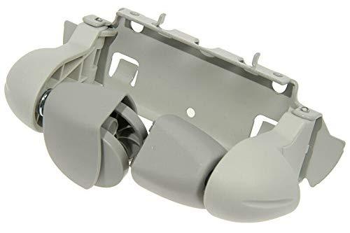 DeLonghi - Soporte para ruedas para radiador de aceite D0712, D0815, D0915, TRD0820, TRD1500, TRD2400