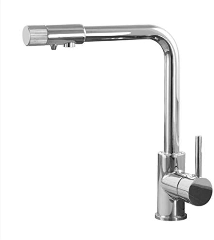 Spültischarmatur Küchenarmatur Swivelkupfer Spülbecken Wasserfilter Wasserhahn