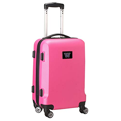 Purchase Denco NCAA Washington Huskies Carry-On Hardcase Spinner, Pink