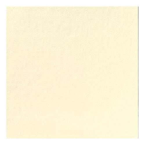 Duni Dunilin Servietten Cream 40x40 1/4 Falz 45 Stück, Dunilin Cream