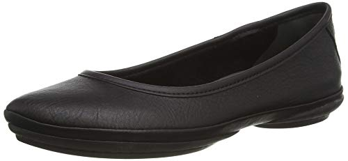 Camper Women's Right Nina K200387 Ballet Flat, Black, 38 EU/8 M US