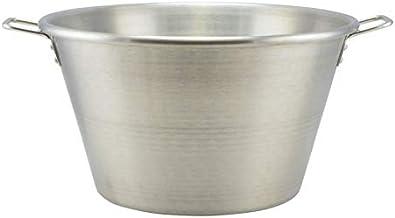 Unbekannt 40 Liter Gulaschkessel Topf Edelstahl Hordentopf Suppentopf