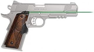 Crimson Trace Master Series Green Lasergrip (Walnut) for 1911 Full Size Pistols - LG-908G