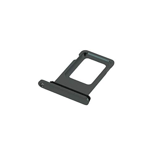jbTec SIM-Tray Karten-Halter passend für Apple iPhone 11 Pro/Pro Max - Slot Schlitten Card Kartenhalter Karte Rahmen Simkarten Simkartenhalter, Farbe:Dunkelgrün