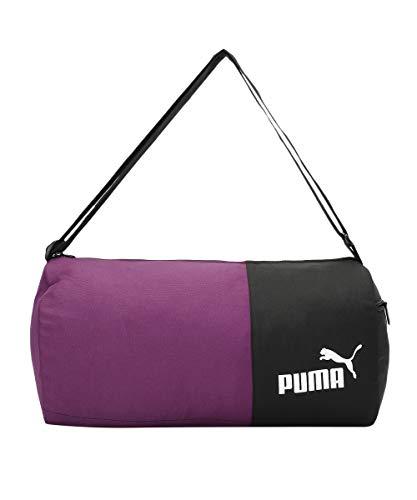 Puma unisex-adult PUMA Gym Bag IND II Indigo-Puma Black Luggage- Garment Bag-X