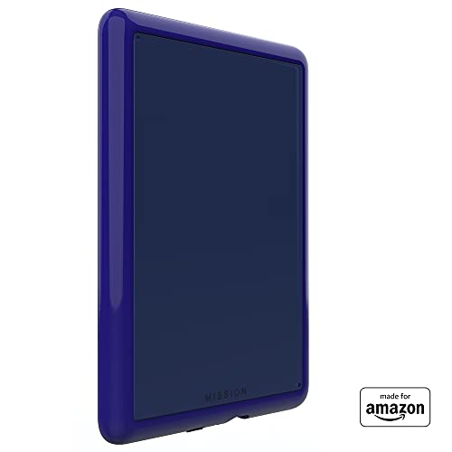 All New, Made For Amazon Clear Case, in Blue, with Screen Protector for Kindle Paperwhite (4th Generation, 2018 Release)