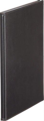 キングジム レザフェスメニューファイル 2ポケット 黒 A4S 1972LFクロ
