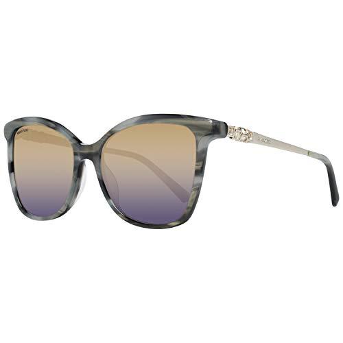 Swarovski SK0154/H-20C-54 Gafas de sol, Gris (Gr), 54.0 para Mujer