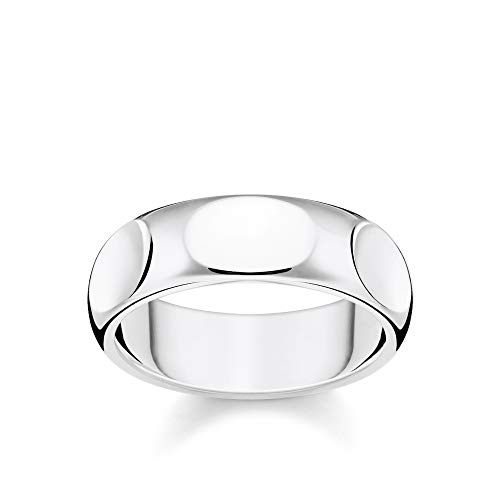 Thomas Sabo Unisex-Ring Puristisches silber 925 Sterlingsilber TR2281-001-21-52