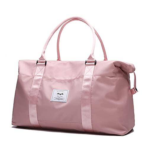 Borsone da viaggio pieghevole con profumo da viaggio, borsa sportiva portatile da donna, borsa da viaggio, borsa per lo sport, per viaggi, palestra, vacanze, ecc