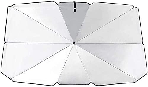 DDG Car Sun Visors,car Windscreen Cover,Car Sun Shade Umbrella Foldable Convenient- Auto Windshield Block Sun Visor Cover (L)