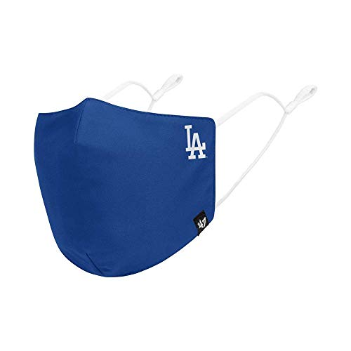 47 MLB Team Color Core Adjustable Face Covering Mask, Adult - Los Angeles Dodgers