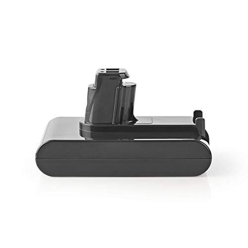 NEDIS Batterie d'aspirateur Batterie d'aspirateur | Li-ION | 22,2 V | 2 Ah | 44,4 Wh | Remplacement pour la série DC31/DC34/DC35/DC44/DC45 de Dyson Gris 120 mm