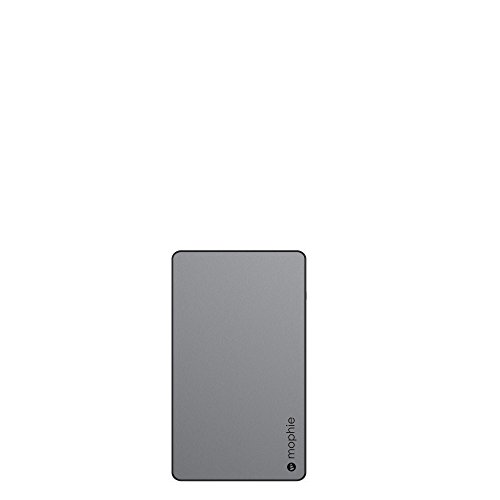 mophie 3559_PWRSTION-6.2K-SGRY PowerStation - Universal External Battery - Made for Smartphones and Tablets (6,000mAh) - Space Gray