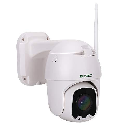 SV3C WLAN IP Kamera Überwachungskamera 1080P Dome Kamera PTZ,Bewegungserkennung, 2-Wege-Audio, 40m Nachtsicht,Supporto TF Card da 128 GB,Kompatibel mit Smartphones/Tablets/Windows