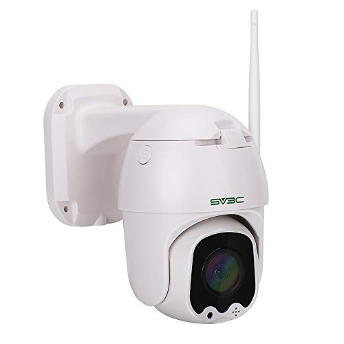 SV3C WLAN IP Kamera Überwachungskamera 1080P Dome Kamera PTZ,Bewegungserkennung, 2-Wege-Audio, 40m Nachtsicht,Supporto TF Card da 128 GB,Kompatibel mit Smartphones/Tablets/Windows