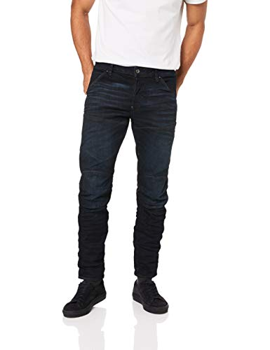 G-STAR RAW Herren 5620 Elwood Slim Jeans, Blau (3D Cobler Processed 8968-8960), 30W / 32L