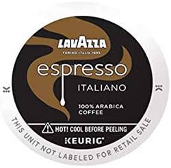 Lavazza Lavazza Espresso Italiano Single Serve Coffee K Cups for Keurig Brewer Medium Roast product image