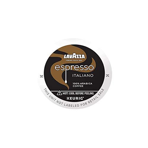 Lavazza Lavazza Espresso Italiano Single-Serve Coffee K-Cups for Keurig Brewer, Medium Roast, 60-Count Box, Espresso Italiano, 60 Count