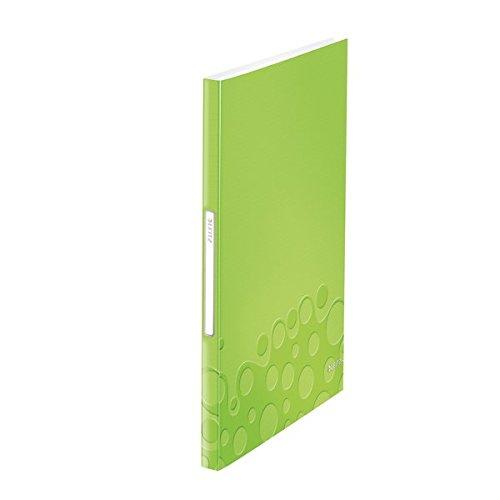Leitz 46320064 Sichtbuch WOW, A4, PP, 40 Hüllen, grün metallic