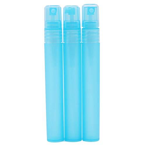 Sevenfly Mini Vaporisateur Vide Parfum Vaporisateur Bouteille Rechargeable Portable Échantillon Bouteille Petit Atomiseur Pulvérisateur Bouteilles 3Pcs(Bleu)