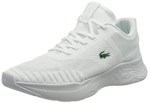 Lacoste Sport Herren Court-Drive Fly 07211 SMA Sneaker, Wht/Wht, 43 EU