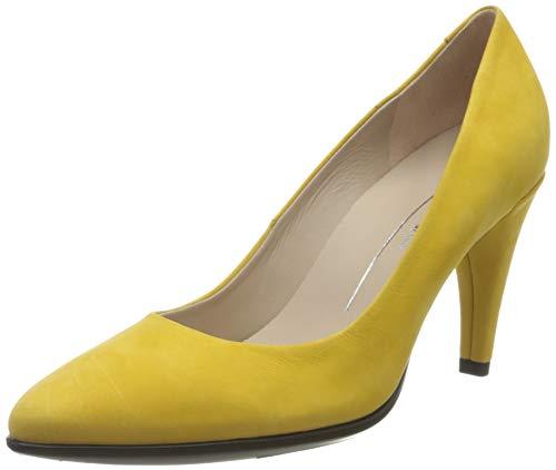 ECCO SHAPE75POINTY, Zapatos de Tacón Mujer, Amarillo (Merigold 2366), 36 EU