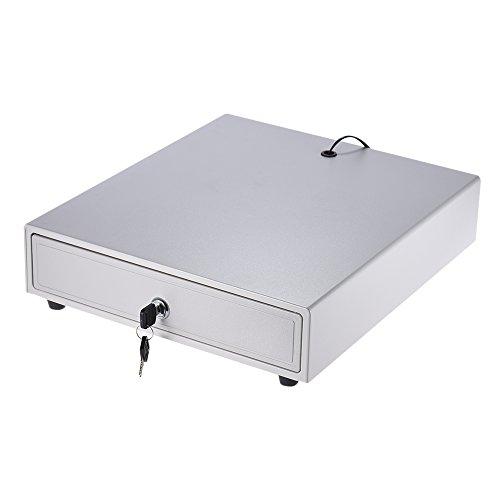 aibecy-elektronische schwer Dienst des Schublade Aufbewahrungsbox 45Bill Münzen-Halterung von Push offenen RJ11key-bloqueo Handbuch für Epson Drucker POS-Star Money Register