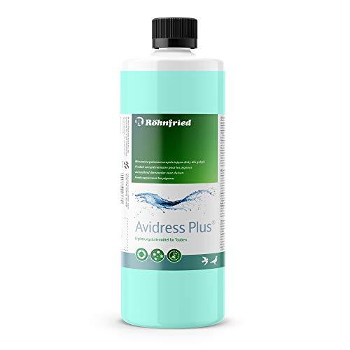 Röhnfried Avidress Plus 1000 ml | Senkt das Infektionsrisiko im Trinkwasser für Tauben | Enthält Mineralien, Oregano und Zimt