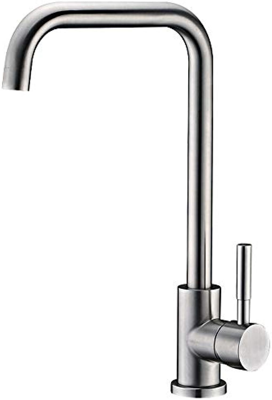 WOOMD Badezimmer Bar Küchenarmaturen ffentliches Restaurant High-End-Club Wasserhahn Klassisch im europischen Stil für alle Wasserfiltersysteme und Umkehrosmoseanlagen (bleifrei, gebürstet, einhand)