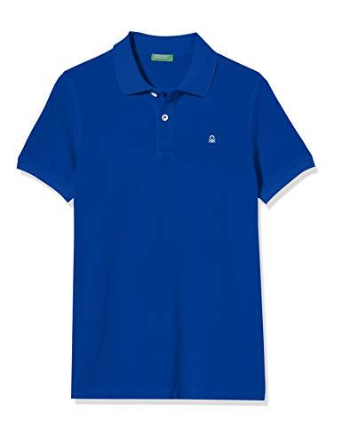 United Colors of Benetton Jungen Maglia Polo M/m Poloshirt, Mehrfarbig (Surf The Web 19R), 158 (Herstellergröße: EL)