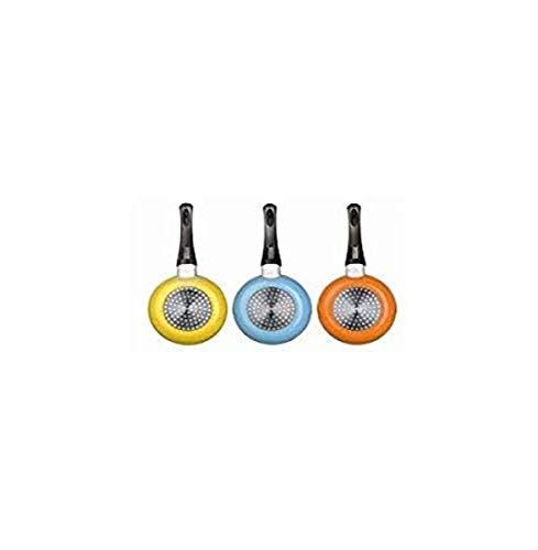 IBILI Sartén, para Todo Tipo de Fuegos, Especial para inducción, Colores Surtidos, Aluminio, Multicolor, 14 cm