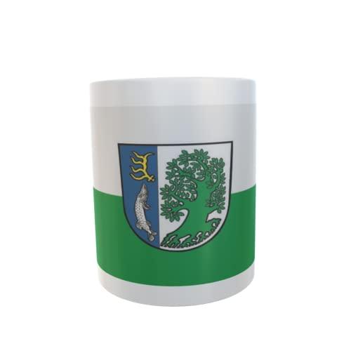 U24 Tasse Kaffeebecher Mug Cup Flagge Märkisch Buchholz