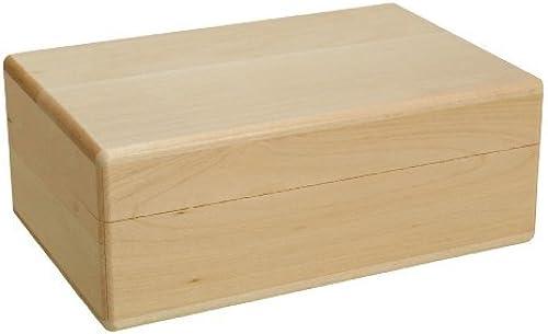 te hará satisfecho Walnut Hollow 1253OP 1253OP 1253OP Wood Box, Roomy by Walnut Hollow  promociones de descuento