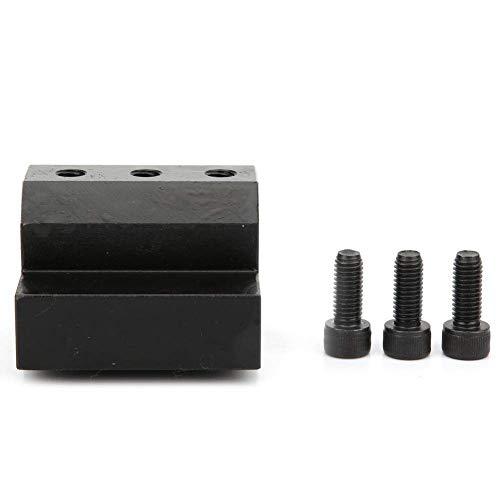 ZANYUYU Supporto per utensili per tornio, multiuso, con manico dritto, per tornio CNC, diametro interno per tornio CNC, fresatrice, punta di estensione per asta (#2)