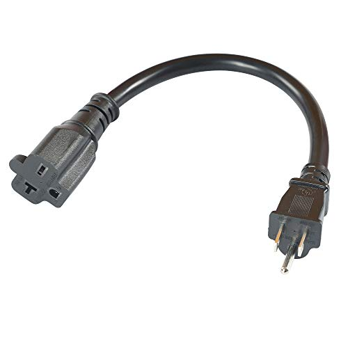 Nema 5-15P to 6-20R Heavy Duty Electric Cable Plug Adapter