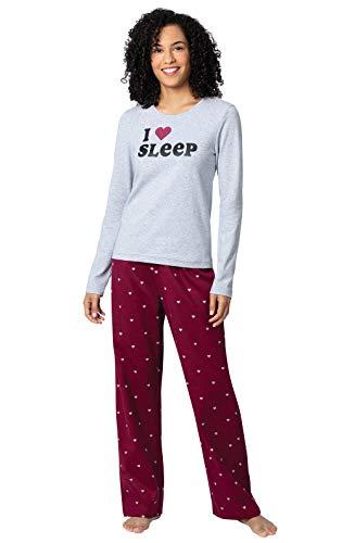 Addison Meadow Womens Flannel Pajamas - Womens Pajamas, Flakey Flannel