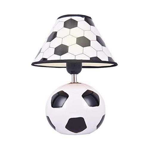 JYDQM Lámpara Decorativa con balón de fútbol y Apagado: lámpara Deportiva Divertida for la habitación de los niños, el Dormitorio de los niños o niñas, la guardería y la Sala de Juegos