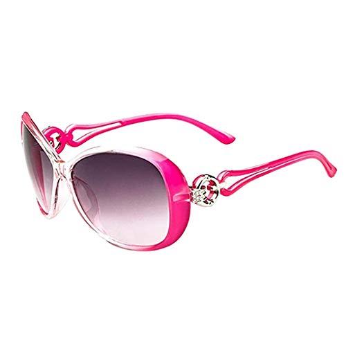 Xniral Unisex UV400 Stilvolle Sonnenbrillen Vintage Glasses Shades Eyewear(G)