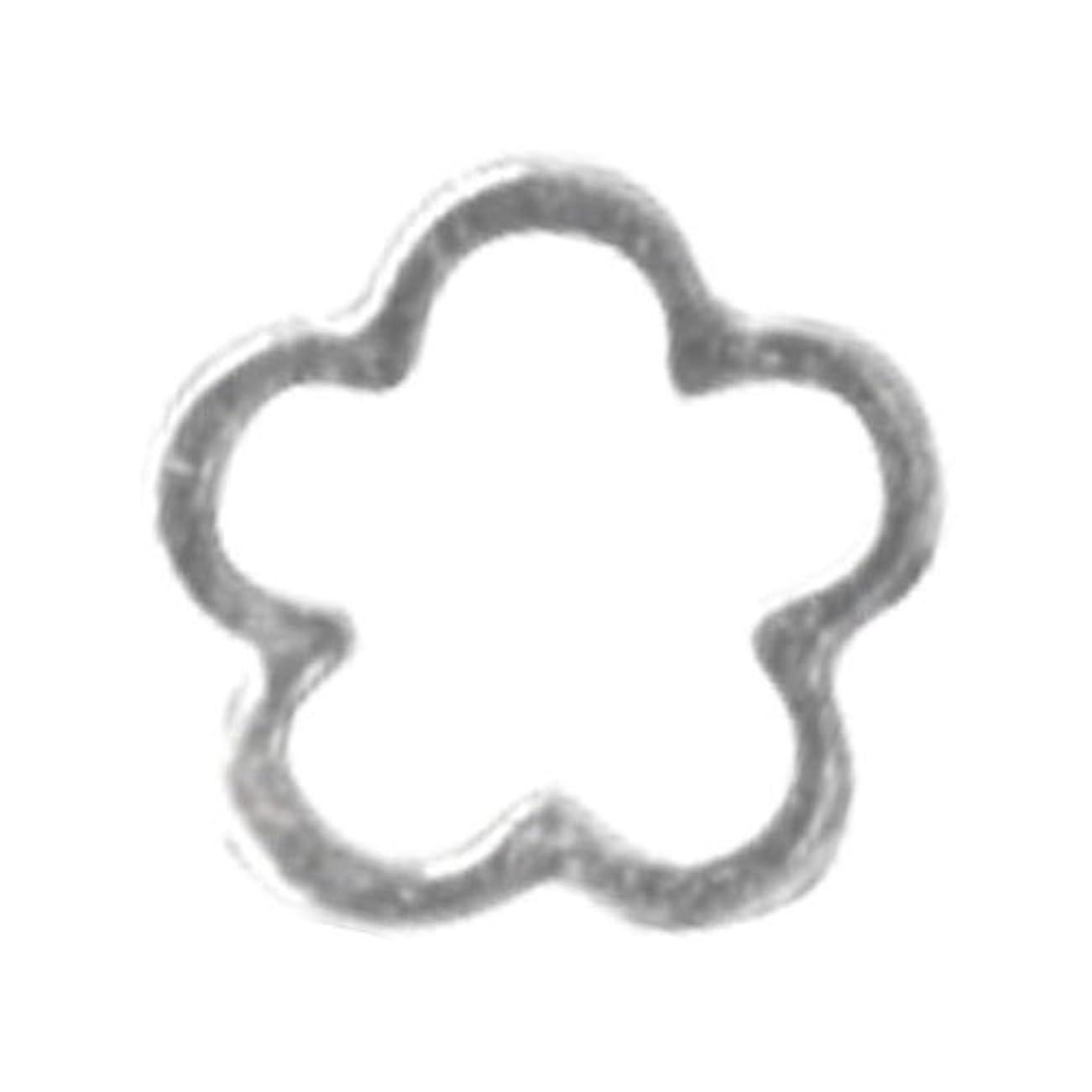 モック属するラメリトルプリティー ネイルアートパーツ サクラ SS シルバー 10個