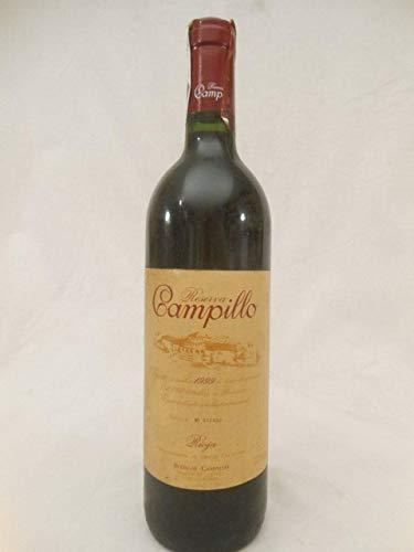 bodegas campillo rouge 1999 - rioja espagne - une bouteille de vin