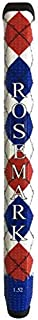 Rosemark Grips 1.52 Red/White/Blue Microfiber/Silicone Putter Grip