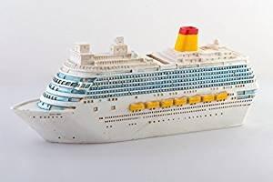Topshop24you B Ware, große Reisekasse,Spardose,Sparbüchse, Boot,Kreuzfahrtschiff,Traumschiff aus Polyresin B Ware mit optischen Mängeln