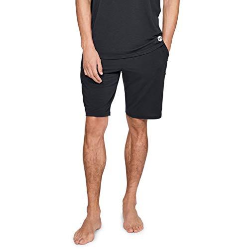 Under Armour Herren Recovery Sleepwear Short Unterhose, Schwarz, X-Large