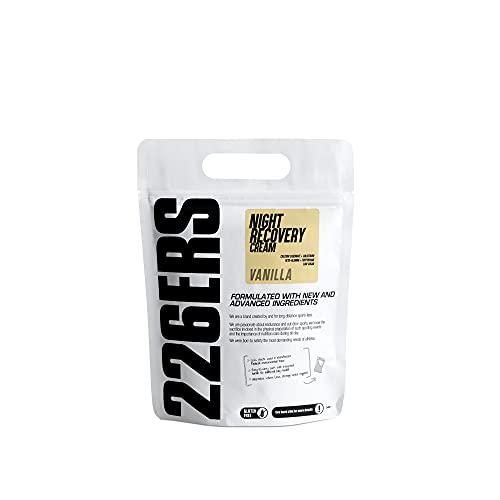 226ERS Night Recovery Cream| Recuperador Nocturno a base de Proteínas, L-Glutamina, Hidratos de Carbono, Aminoácidos, Calostro, Vitaminas y Minerales, Vainilla - 500 gr