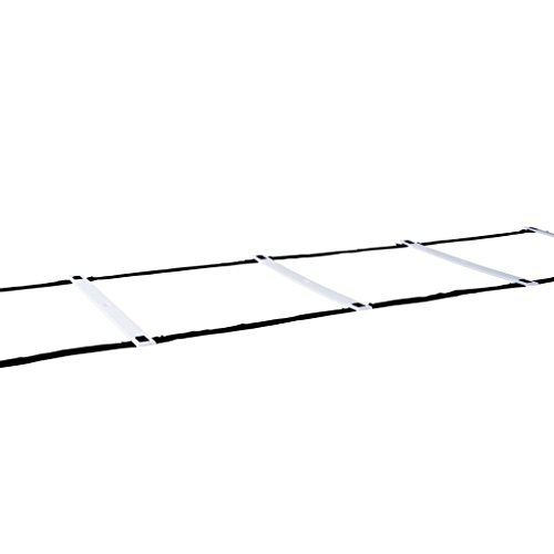 Pure 2 Improve Agility Ladder Agility Ladder - Black/White.