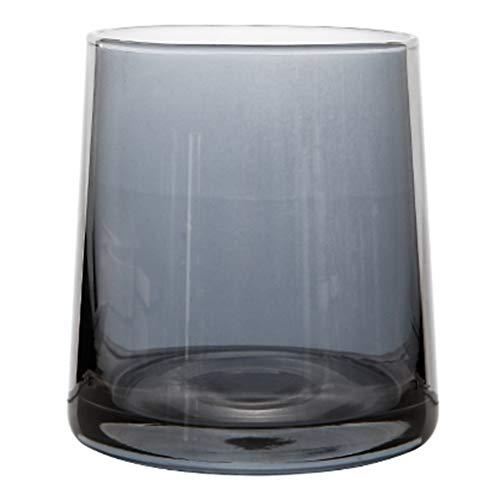 Verres Verre coloré verre à whisky tasse tasse à thé thé au lait boisson tasse à jus tasse en cristal (Color : Gray, Size : A)