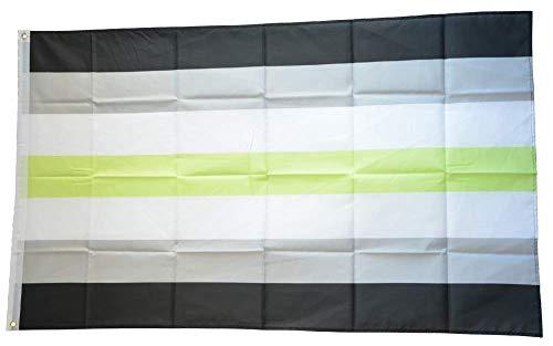 Flaggenfritze® Flagge/Fahne Agender genderless - 90 x 150 cm